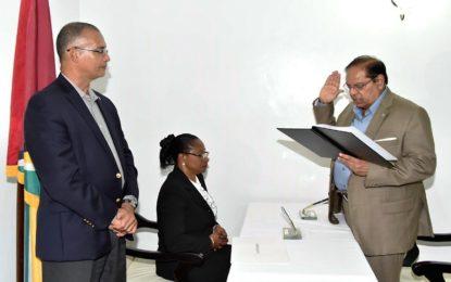 Prime Minister sworn in