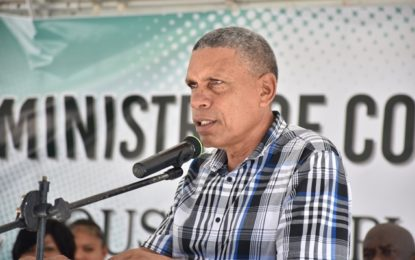 Bradford urges Bartica residents to be patient – as Gov't seeks to address power issues