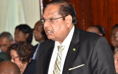 $250B budget would touch all Guyanese in a positive way – PM Nagamootoo