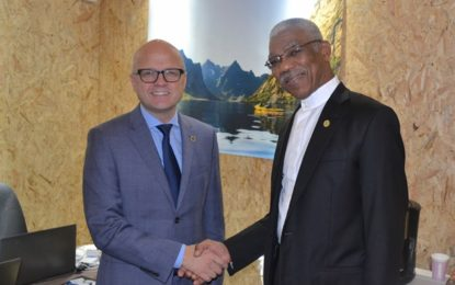 Guyana and Norway advance dialogue on climate partnership agreement