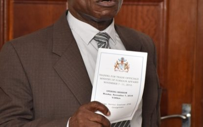 Foreign Ministry officials undergo training to bolster international trade