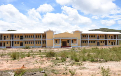 Kato Secondary School repairs to be completed in 2017