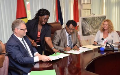 Gov't, EU sign MoU -to boost inter-agency capacity to reduce maritime cocaine trafficking