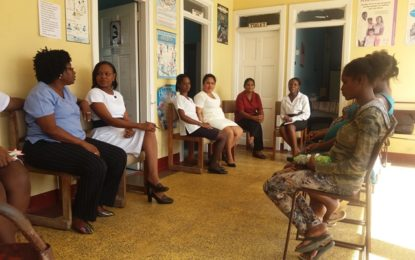 Adolescent Antenatal Support group launched at Herstelling Health Centre