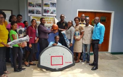 NSC donates sports gear to UG's Tain campus