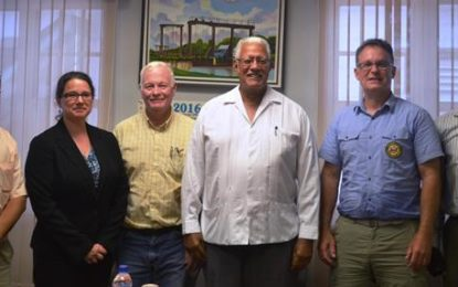 US Verification Unit pays Courtesy calls on Agri. Minister  – lauded Guyana's efforts at enforcement of TED Regulation