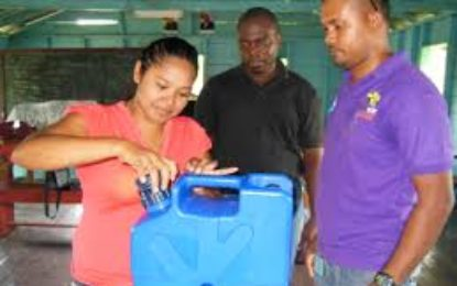 Water filters for hinterland homes, schools, health facilities