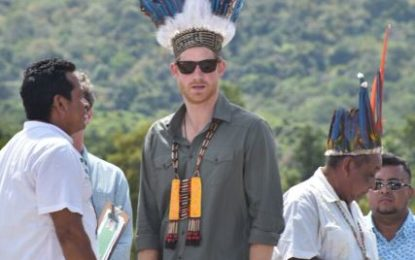 Prince Harry experiences Guyana's wonders