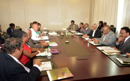 Guyana-Suriname Cooperation Council to be re-established, framework to further the economic and social developments finalised– As Presidents Granger and Bouterse concludes one-day working meeting
