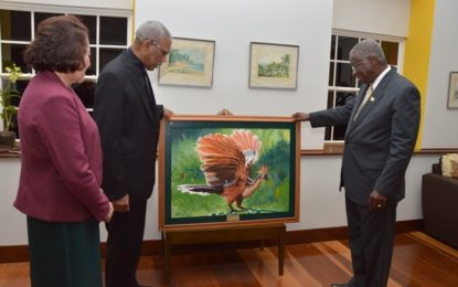 President and First Lady attend Barbados 50th Anniversary of Independence celebrations