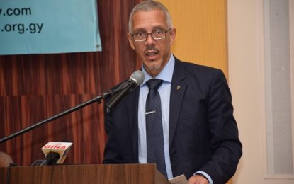 Gov't working to make business environment friendlier – Minister Gaskin at Shipping Association's 20th anniversary