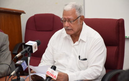 Guyana Rice Export Board report shows no flood losses -Minister Holder