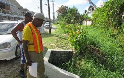 Drainage works to commence in Newtown, Kitty shortly