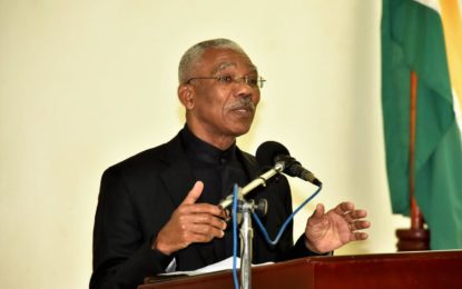 TIP perpetratorswill be prosecuted with the full force of the law  -President David Granger