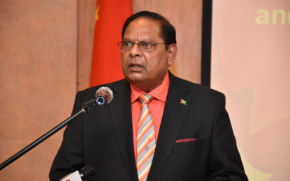 Remarks By The  Hon. Moses Nagamootoo,  Prime Minister of the Cooperative Republic of Guyana  On The Occasion Of the People's Republic of China's New Year Celebrations  Thursday, January 26, 2017