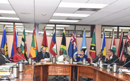 CSME key on agenda of Community Council Ministers Meeting