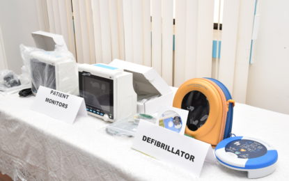 Guyana Medical Mission donates medical equipment to the GPHC