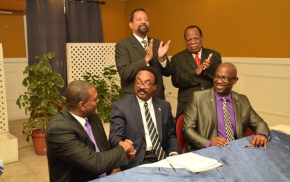 Guyana inks historic MOU for law school