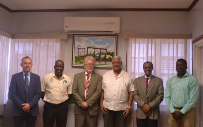 CRFM Technical Team calls on Agri. Minister  – Norway to assist CARICOM in fisheries research and management