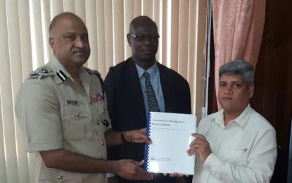 Handing over of GRDB Forensic Audit Report to Commissioner of Police