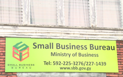 SBB will train small business owners to bid for contracts