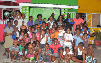 Ministry of Social Protection makes contribution to East Ruimveldt Area