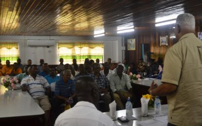 Gov't engages rice Farmers on future of Industry  -Calls made for changes to Rice Factory Act