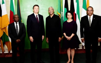 Guyana looks to Switzerland for assistance in implementing 'Green' Economy Action Plan  -President Granger says as New Swiss Ambassador is accredited