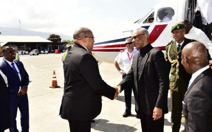 President David Granger visit to Haiti