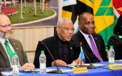 Address  of  His Excellency Brigadier David Granger  President of the Cooperative Republic of Guyana   to the Twenty-eighth Inter-Sessional Meeting of the Conference of  Heads of Government of the Caribbean Community.  2017.02.16