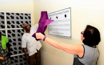 President opens Chetwynd Learning Centre at his former residence