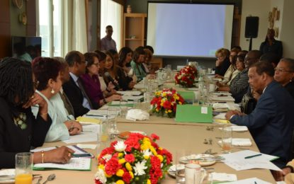 Guyana's First Lady hosts Every Caribbean Woman, Every Caribbean Child forum