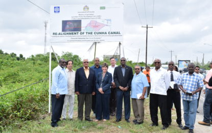 Cunha Canal Rehabilitation Project launched