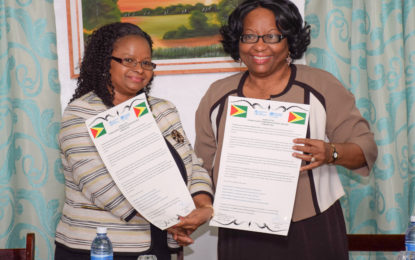 Guyana signs third Country Cooperation Strategy (CCS) with PAHO/WHO