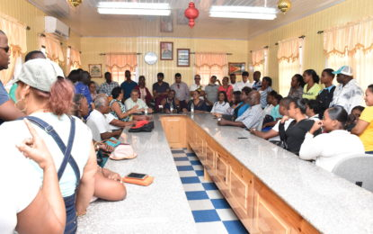 Small miners meet Minister Broomes, say willing to comply with new tax measures