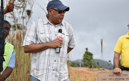 Land reclamation to be aggressively pursued – Minister Trotman
