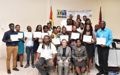 'Be Your Own Boss' sees 22 Graduating from entrepreneur training programme