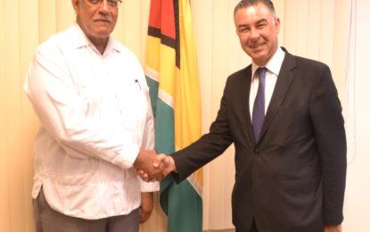 Egypt Non-Resident Ambassador calls on Agriculture Minister