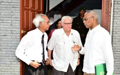 Emergency Medical Services must be made available countrywide  -President Granger at St. John's Ambulance Brigade office