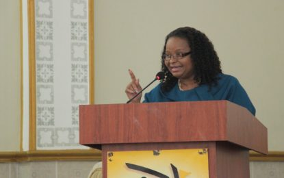 Put your faith in action- Minister Lawrence encourages women