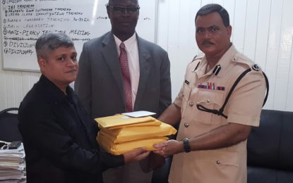 Handing over of Forensic Audit Reports to Police
