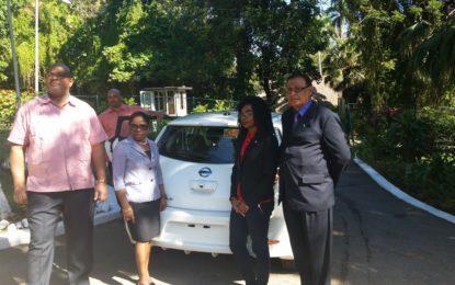 Cayman Automotive Company supports Guyana's green economy drive