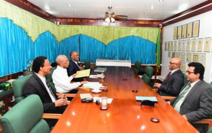 GECOM Chairperson discussed during President and Opposition Leader follow up meeting