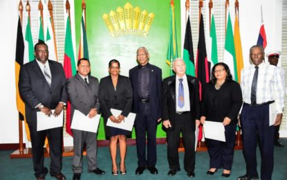 Land Rights Commission sworn in-President urges Commissioners to take mandate seriously