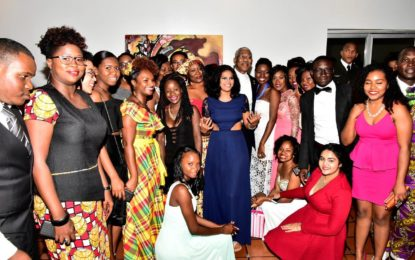 President commends Georgetown Rotaract for water conservation project