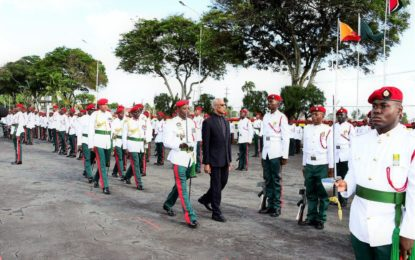 GDF officers must contribute to national development in addtion to national defence-President tells officers at Commissioning Parade