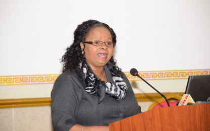 Minister Lawrence appeals for professionalism in health sector