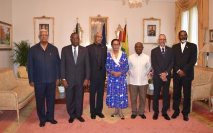 Caribbean states must combine resources and expertise  -President Granger on first day of official visit to The Bahamas