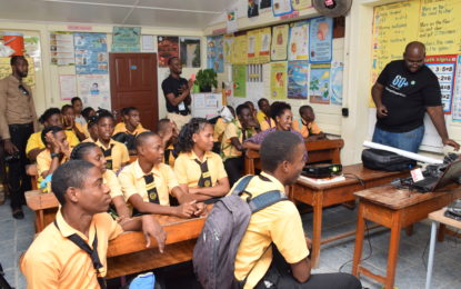 Climate change awareness taken to Sophia Special School