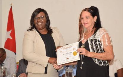 Cuban Medical Brigade made way for modernised healthcare in Guyana – Minister Cummings